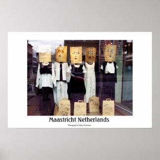 Maastricht Pays-Bas Affiche