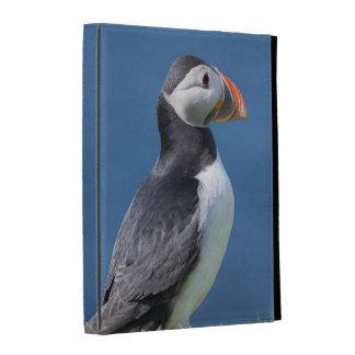 Macareux atlantique (Fratercula Arctica) sur la Coque Folio iPad