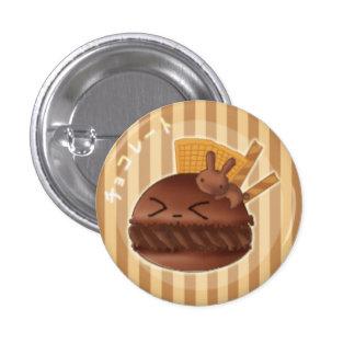 Macaron de chocolat badge