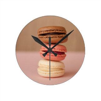 Macarons Horloge Ronde