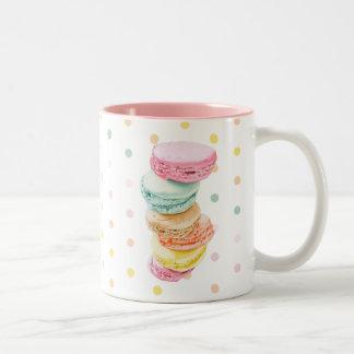 Macarons pointille la tasse