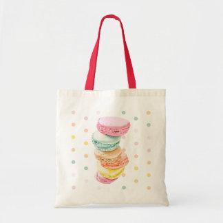 Macarons pointille le sac