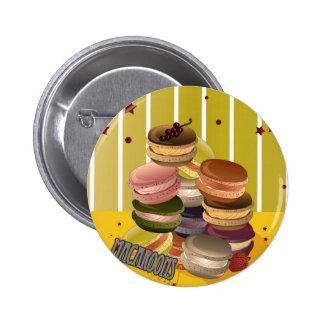 Macarons Vintage Pin's