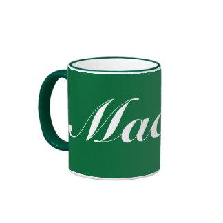 Macau* Mug Caneca de verte Macao