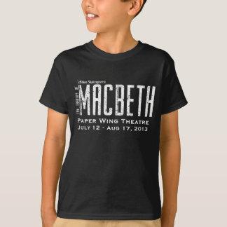 Macbeth - théâtre de papier d'aile - le T-shirt de