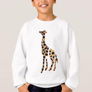 Mâche sauvage de girafe sweatshirt