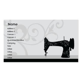 Machine à coudre - affaires carte de visite standard