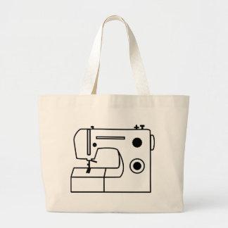 Machine à coudre sac en toile