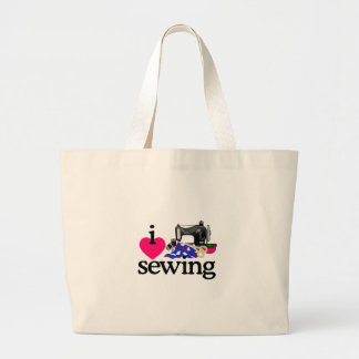 Machine à coudre sac en toile jumbo