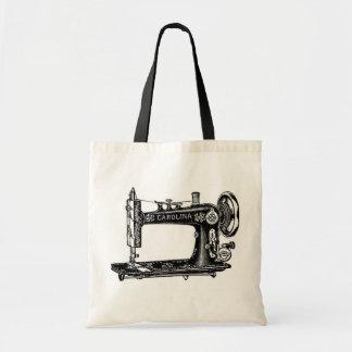 Machine à coudre vintage sac en toile budget