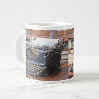 Machine à écrire antique mug jumbo