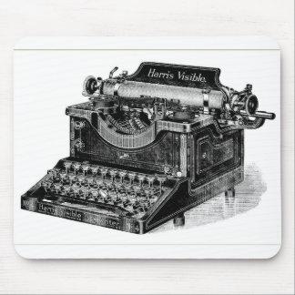 Machine à écrire évidente vintage de Harris Tapis De Souris