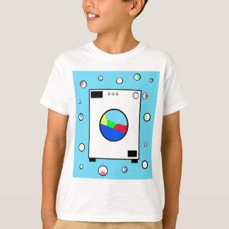 Machine à laver t-shirt