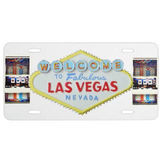 Machine à sous de signe de Las Vegas