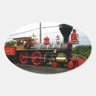 machine à vapeur du laviathon 63 sticker ovale
