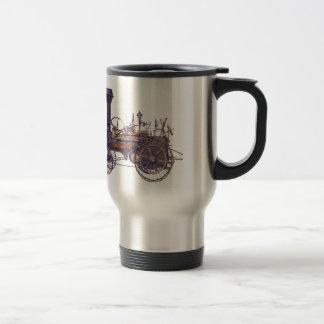 Machine à vapeur rebelle de Steampunk Mug De Voyage En Acier Inoxydable