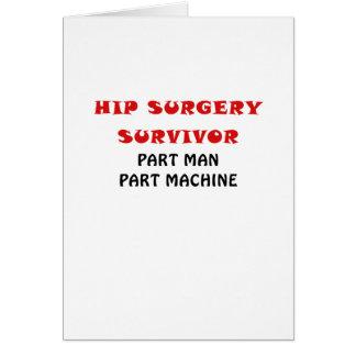 Machine de pièce d'homme de pièce de survivant de carte de vœux