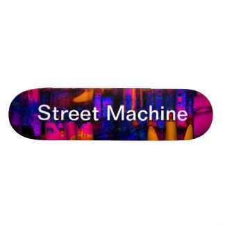 machine de rue plateaux de skate