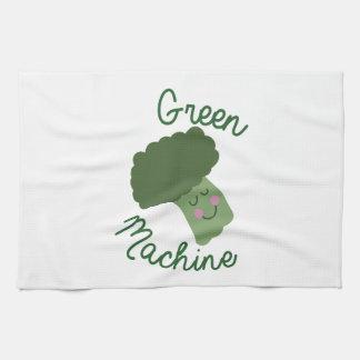 Machine verte linge de cuisine
