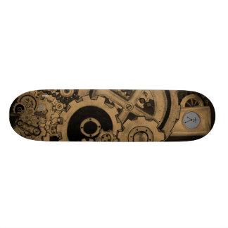 Machines de Steampunk (effrontées) Skateboards Personnalisables