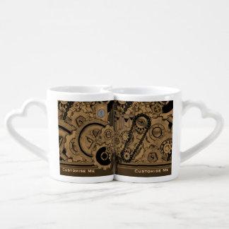 Machines de Steampunk (effrontées) Tasse Duo