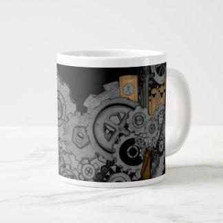 Machines de Steampunk Mug Jumbo