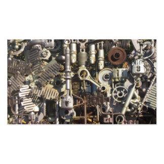 Machines mécaniques de machines de Steampunk Carte De Visite Standard