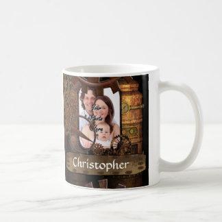 Machines personnalisées de steampunk tasse à café