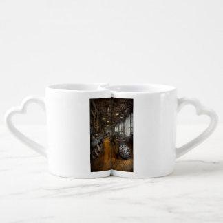 Machiniste - tours - le disque original de mousse mugs amoureux
