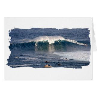 Mâchoires de carte de voeux de ~ de Maui