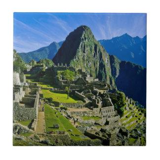 Machu antique Picchu, dernier refuge des 2 Carreau