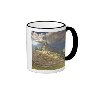 Machu Picchu, ruines antiques, monde 2 de l'UNESCO Mug Ringer