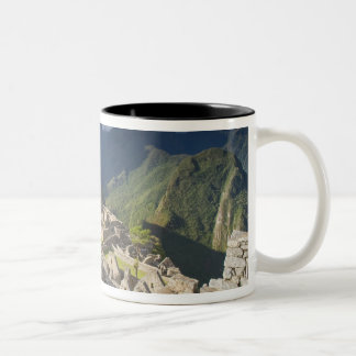 Machu Picchu, ruines antiques, monde 3 de l'UNESCO Mug Bicolore
