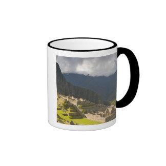 Machu Picchu, ruines antiques, monde 4 de l'UNESCO Mug Ringer