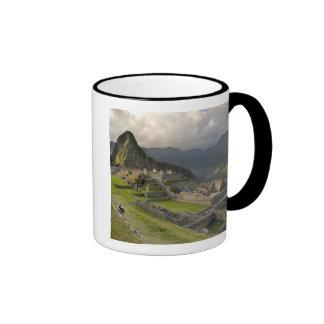 Machu Picchu, ruines antiques, monde de l'UNESCO Mug Ringer