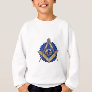 Maçon bleu de loge sweatshirt