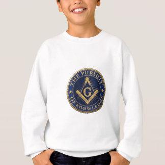 Maçons la poursuite de la connaissance sweatshirt