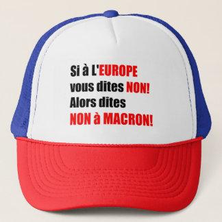 Macron = Europe = Mondialisation - Casquette