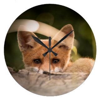 maculez l'horloge, décor rusé, cadeaux de petit grande horloge ronde