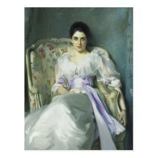 Madame Agnew Postcard de John Singer Sargent Carte Postale