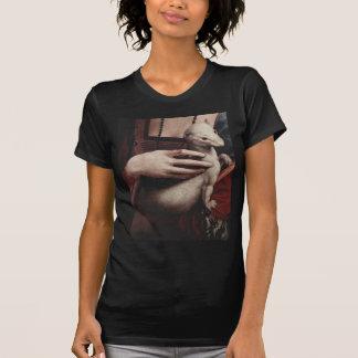 Madame avec la hermine (détail) t-shirt