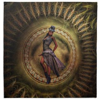 Madame B de Steampunk d'imaginaire Serviettes En Tissus