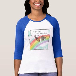 Madame Baseball Tee d'arc-en-ciel T-shirt