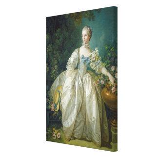 Madame Bergeret, C. 1766 (huile sur la toile) Toiles