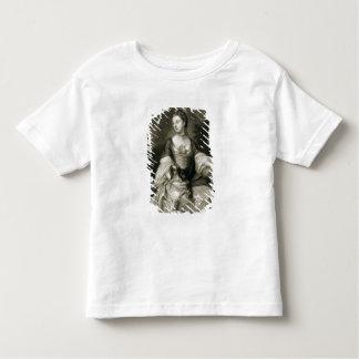 Madame Caroline Russell, gravé par James McArdell T-shirt Pour Les Tous Petits