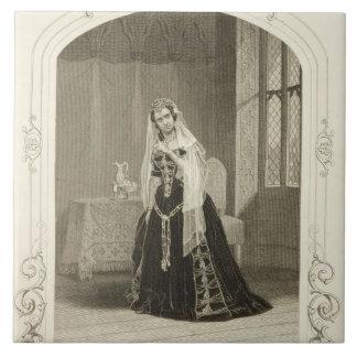 Madame Celeste en tant que princesse Katherine, Sc Grand Carreau Carré