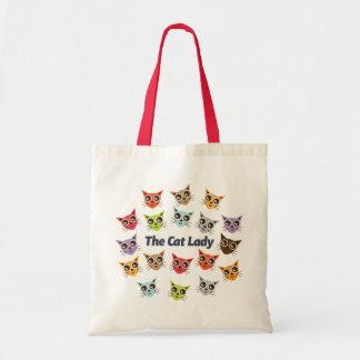 Madame de chat sacs
