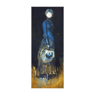 Madame de James McNeill Whistler dans le gris Toiles