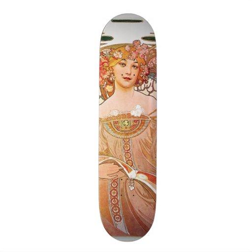 Madame de Nouveau d'art de rêverie de rêverie d'Al Skateboard Customisable