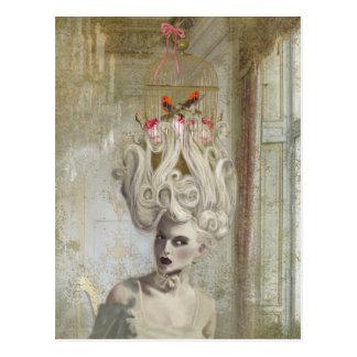 Madame de pardon, carte postale